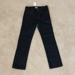 "JCrew boys jeans ""Sutton"" dark wash"
